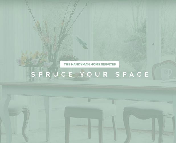 responsive web design for spruce your space service